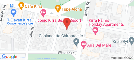 Location map for 304/92-96 Musgrave Street Kirra