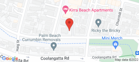 Location map for 19/14 Douglas Street Kirra