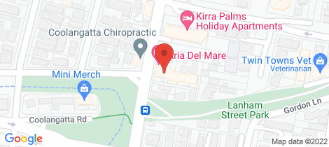 Location map for 21/14 Miles Street Kirra