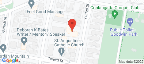 Location map for 18/27 Dutton Street Coolangatta