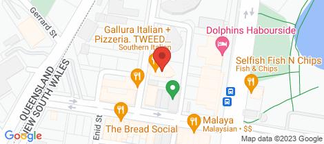 Location map for Level 4/2044/18-20 Stuart Street Tweed Heads