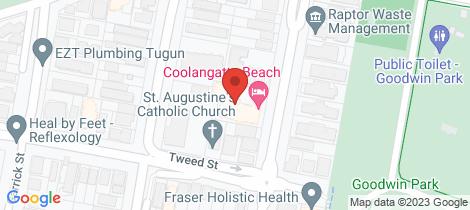 Location map for 11/31 Dutton Street Coolangatta