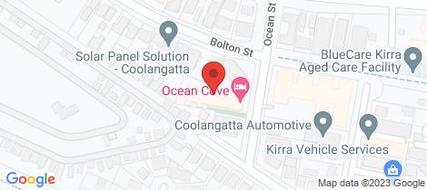 Location map for 20/9 Ocean Street Kirra