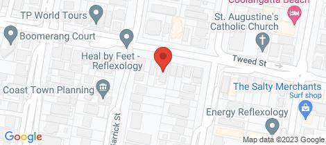 Location map for 2/38 Tweed Street Coolangatta
