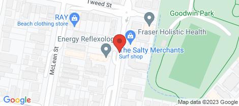 Location map for 9/54 Dutton St Coolangatta