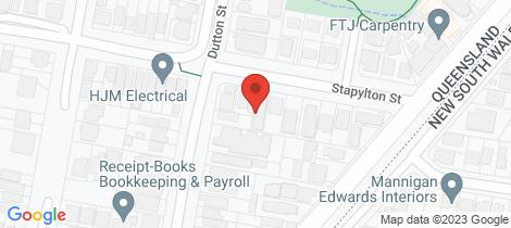Location map for 3/68 Stapylton Street Coolangatta