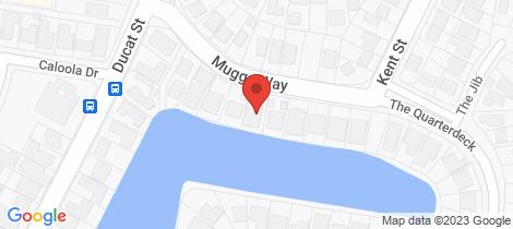 Location map for 5/10 Mugga Way Tweed Heads
