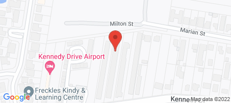Location map for 6/187 Kennedy Drive Tweed Heads West