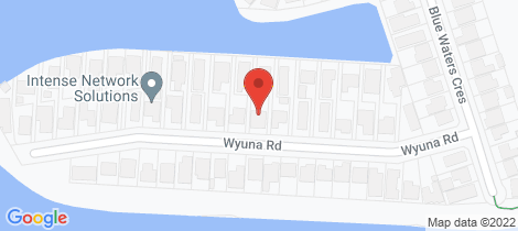 Location map for 29 Wyuna Road Tweed Heads West