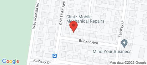 Location map for 3 Bunker Avenue Warwick