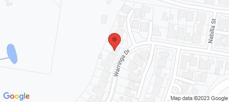 Location map for 42 Warringa Drive Bilambil Heights