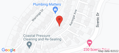 Location map for 24 Karingal Avenue Bilambil Heights
