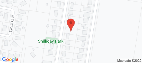 Location map for 1/12 Shilliday Street Warwick