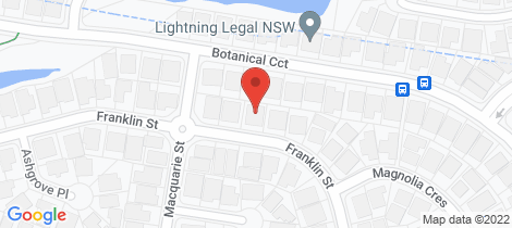 Location map for 51 Franklin Street Banora Point