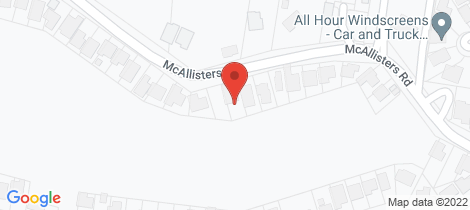 Location map for 37 McAllisters Road Bilambil Heights
