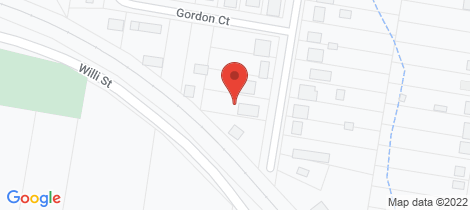 Location map for 15 Batterham Street Warwick