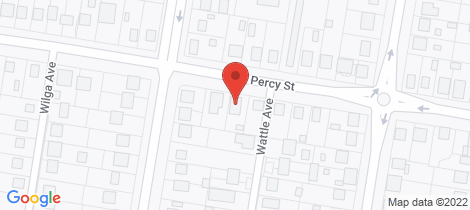 Location map for 141 Percy Street Warwick