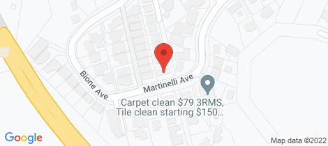 Location map for 31 Martinelli Avenue Banora Point
