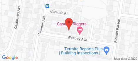 Location map for 9 Westray Avenue Banora Point