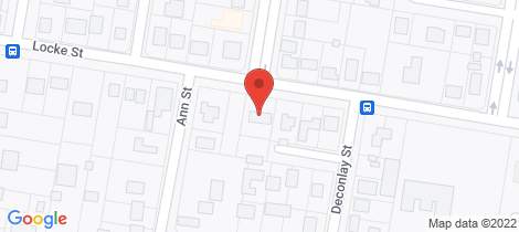 Location map for 66 Locke Street Warwick