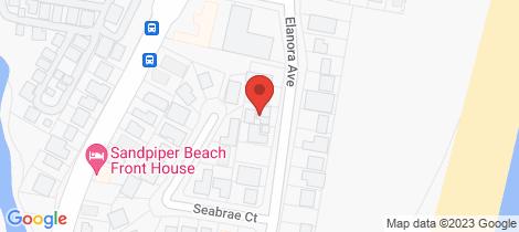 Location map for 30 Elanora Avenue Pottsville