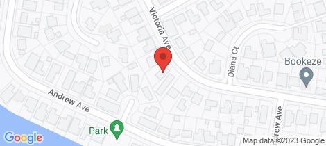 Location map for 28 Victoria Avenue Pottsville