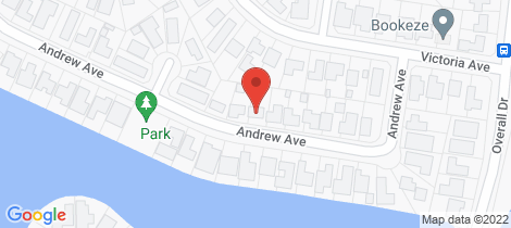 Location map for 38 Andrew Avenue Pottsville