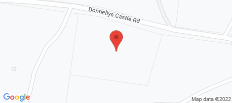 Location map for 553 Donnelly's Castle Road Pozieres