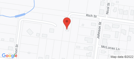 Location map for 29 Rich Street Stanthorpe