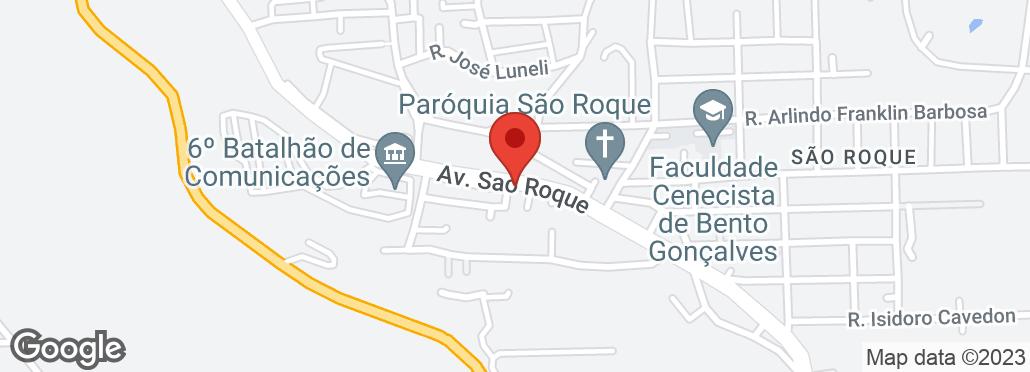 Av. São Roque, 410 Bairro São Roque, Bento Gonçalves, RS
