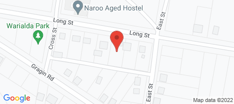 Location map for 153 Long Street Warialda