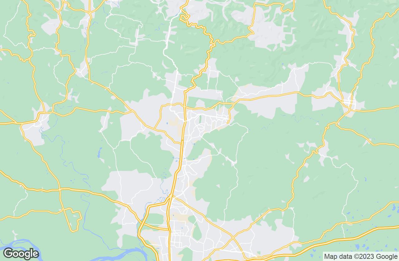 Google Map of Novo Hamburgo
