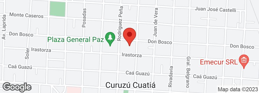 Juan de Vera 965 , Curuzú Cuatiá, Corrientes, CR