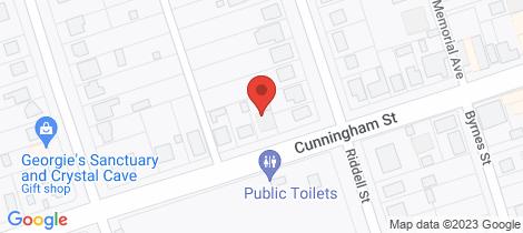 Location map for 59 Cunningham Street Bingara