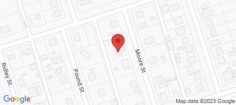 Location map for 4 Moore Street Bingara