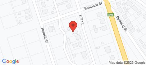 Location map for 26 Hill Street Bingara