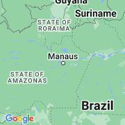 Le thème Amazonie sur notre carte histoire-géo