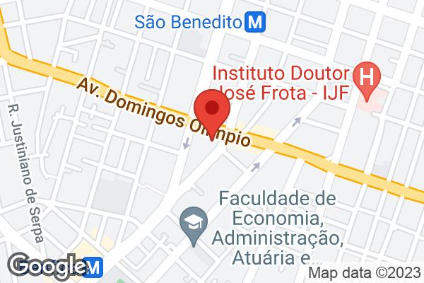 Av. Domingos Olímpio, 1441 Benfica, Fortaleza, CE