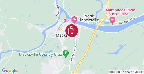 Location of Macksville Hospital Development