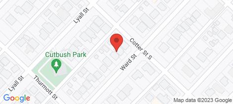 Location map for 44 Ward Street Lamington