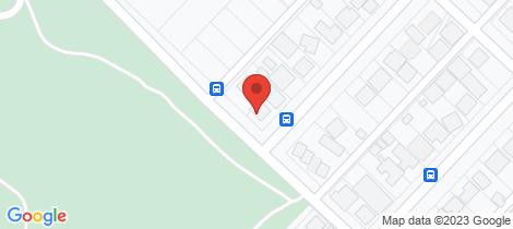 Location map for 60 Hawkins Street West Lamington