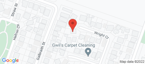 Location map for 11A Wright Court Somerville