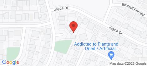 Location map for 7B Bracklemann Drive Boulder