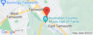 Map of Oporto-Tamworth