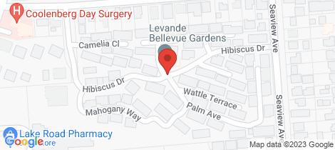 Location map for 13/1D Parker Street Port Macquarie