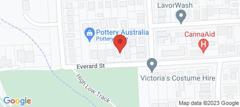 Location map for 1/25 Everard Street Port Macquarie