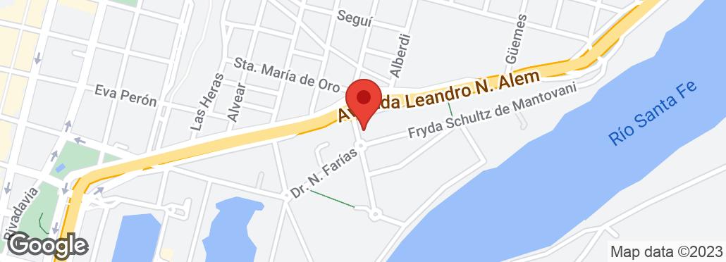Av. Leandro N. Alem 1600 , Santa Fé, SF