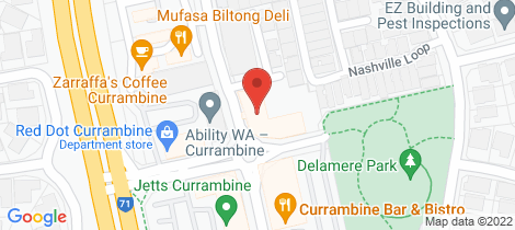 Location map for 10/13 Hobsons Gate Currambine