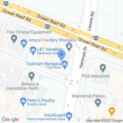 Metro WA - Toolmart Wangara 79 Buckingham Drive  , WANGARA, WA 6065, AU