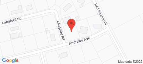 Location map for 73 Andrews Avenue York
